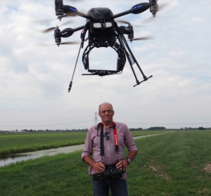 Bram Gebuys Dronepiloot