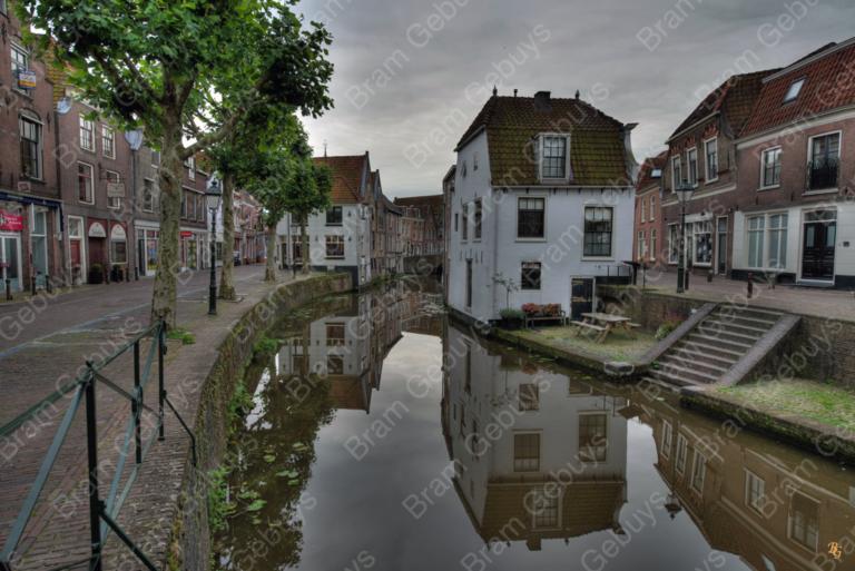 Bram Gebuys Oudewater centrum water