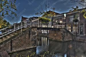 Bram Gebuys Trappen brug-Gouda