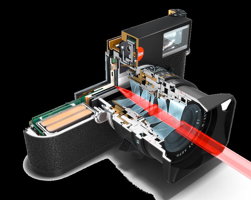 Leica M10 binnenwerk